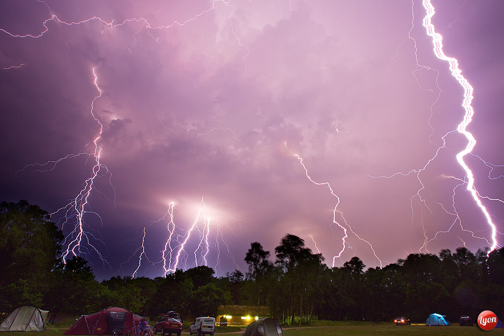 This is the end - New Forest Storm