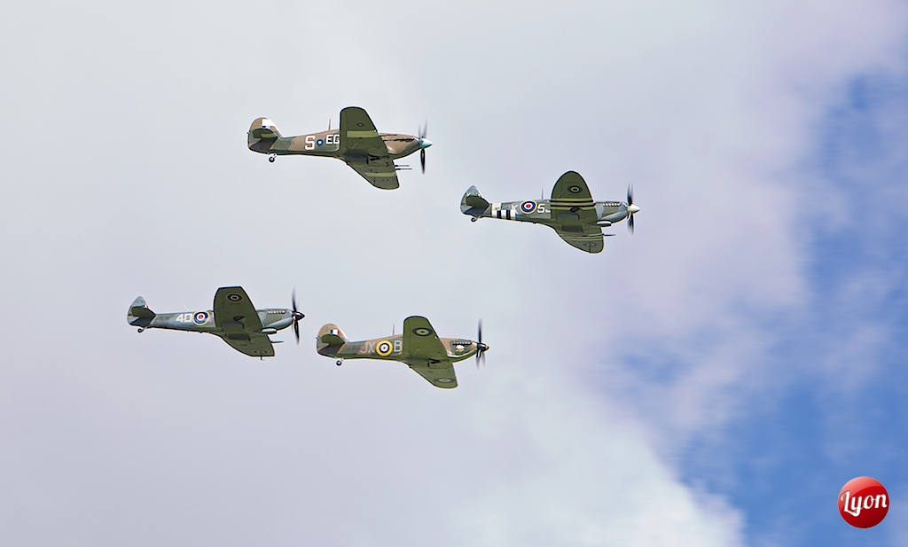 Battle of Britain Flypast, 75th Anniversary, Goodwood Circuit, Chichester, West Sussex 15-09-15