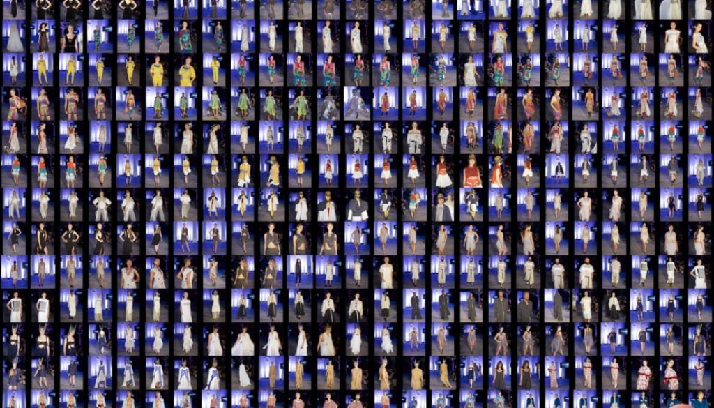 Concept Show - Oxford Fashion Studio - London Collections LFW15 SS2016 Devonshire Square