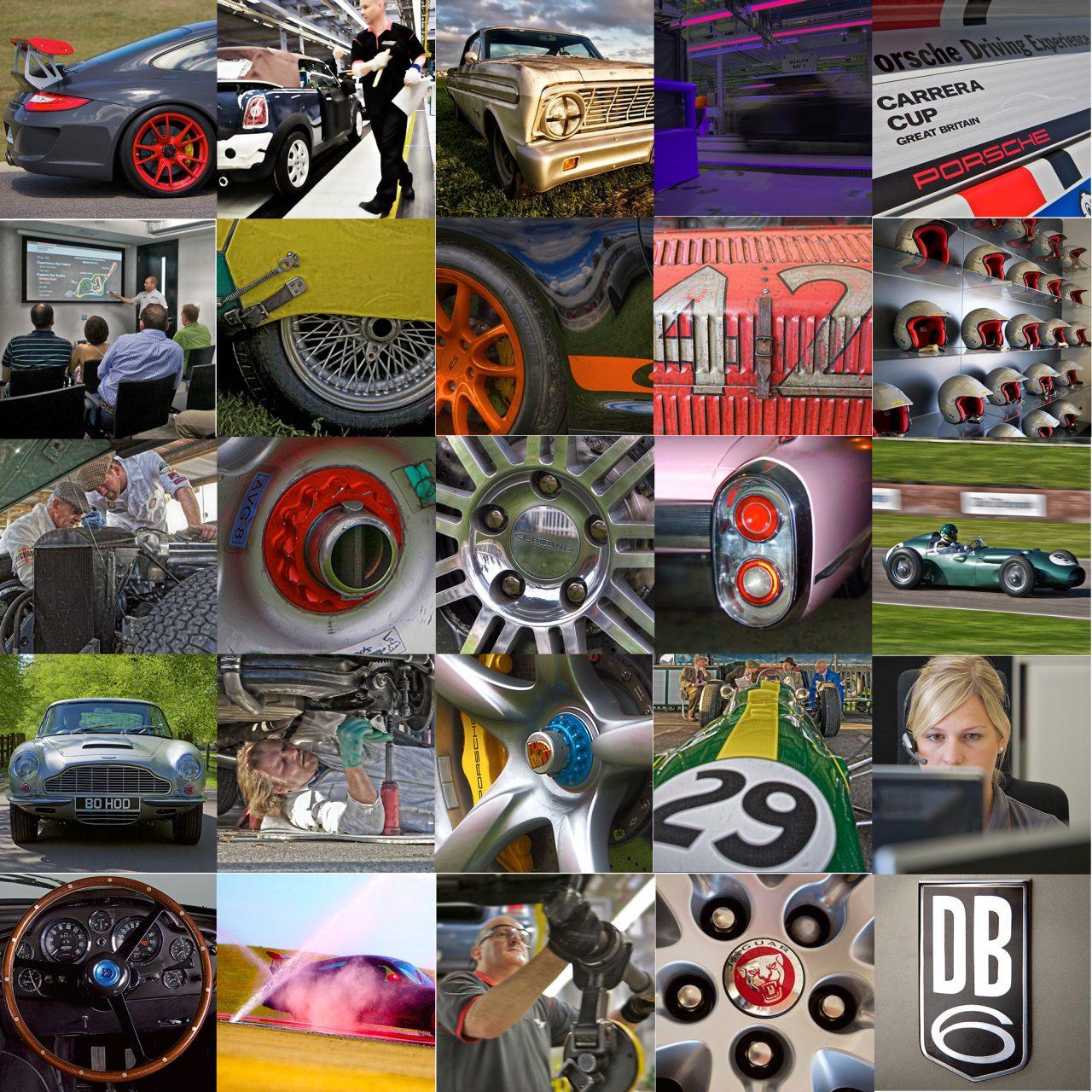 automotive-montage