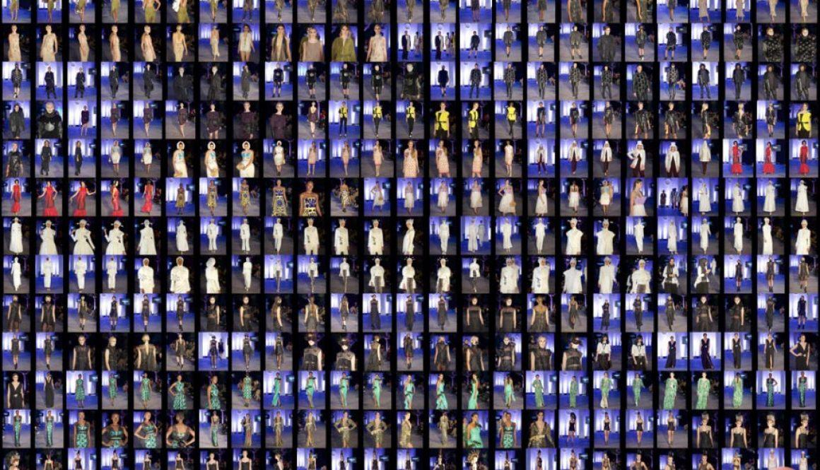 Couture Show - Oxford Fashion Studio - London Collections LFW15 SS2016 Devonshire Square, London